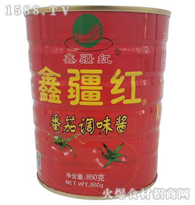 鑫疆红番茄调味酱850g