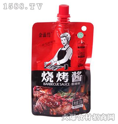 金蕊竹烧烤酱110g