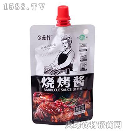金蕊竹烧烤酱(黑胡椒)110g
