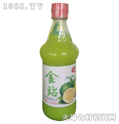 金站柠檬味浓缩调味品840ml