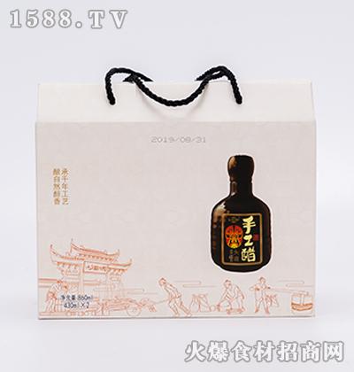 阆洲手工醋礼盒430ml*2