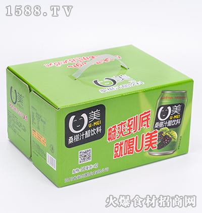 阆洲U美桑椹汁醋饮料礼盒310ml*12