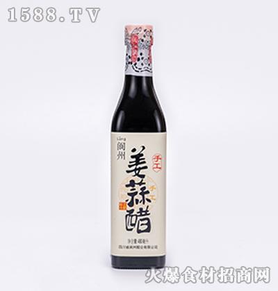 阆洲手工姜蒜醋480ml