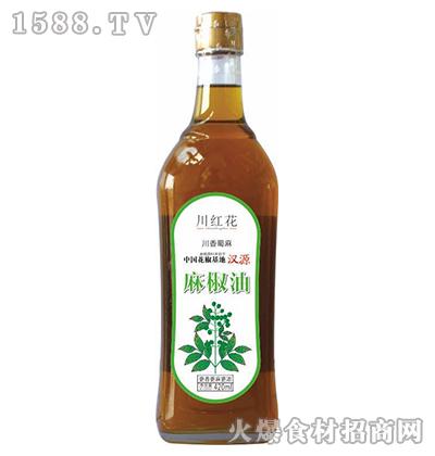 川红花麻椒油420ml