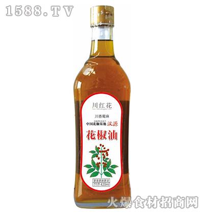 川红花花椒油420ml
