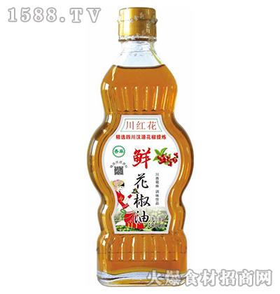 川红花鲜花椒油400ml