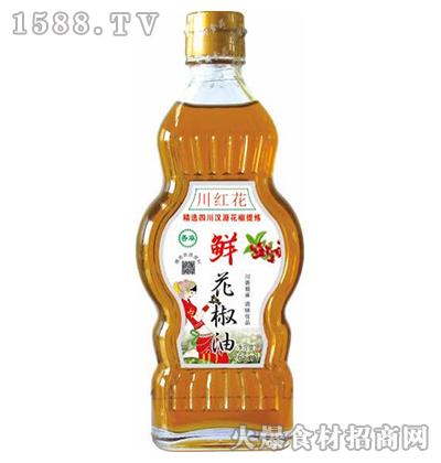 川红花鲜花椒油265ml