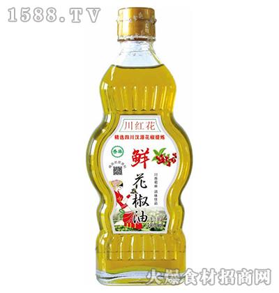 川红花-鲜花椒油400ml