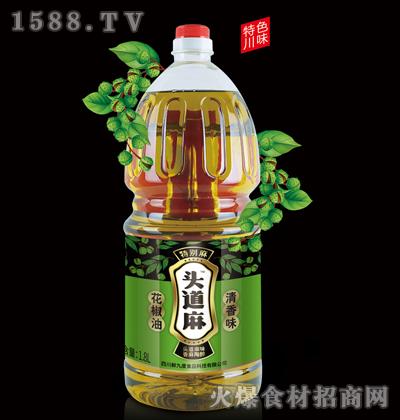 头道麻花椒油1.8L(清香味)