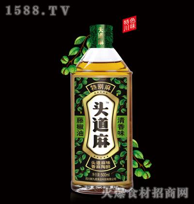 头道麻藤椒油500ml(清香味)