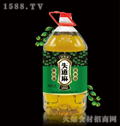 头道麻藤椒油5L(清香味)