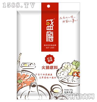 盛梅红油麻辣火锅底料168g