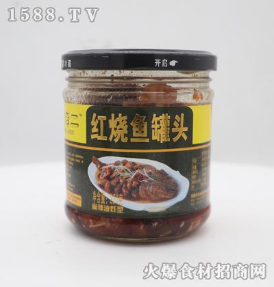 薛师傅红烧鱼罐头220g