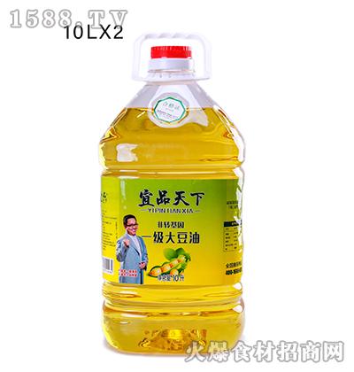 宜品天下一级大豆油10L