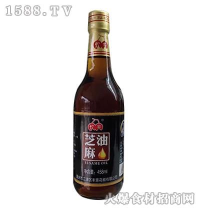 炊夫芝麻油458ml