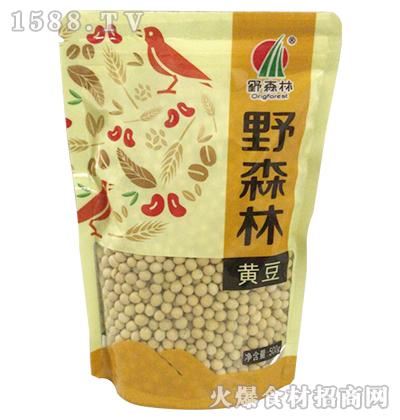 野森林黄豆500g