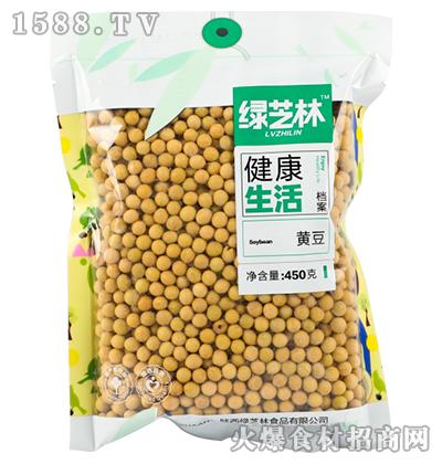 绿芝林黄豆450g