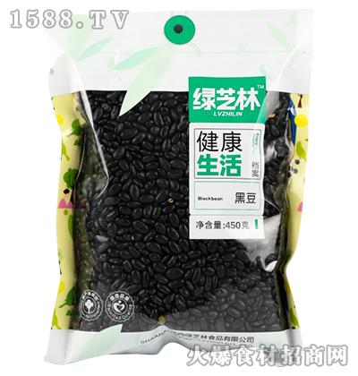 绿芝林黑豆450g