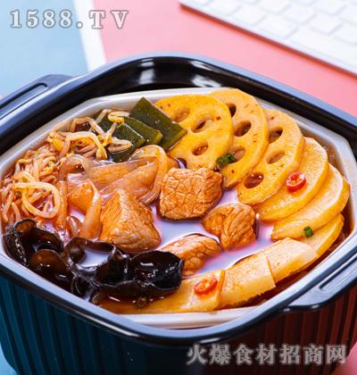 七片叶牛肉自热火锅