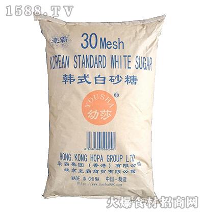 豪霸-韩式白砂糖