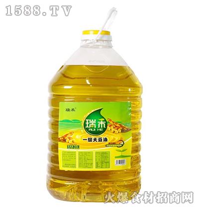 瑞禾一级大豆油20L