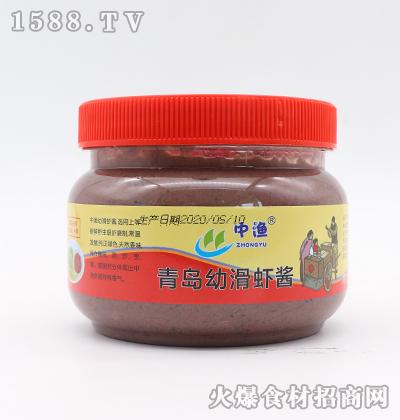 中渔青岛幼滑虾酱500g