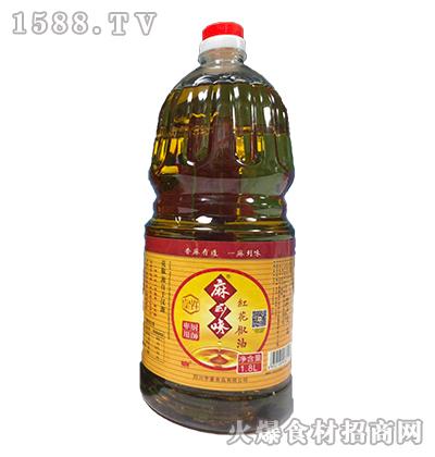 麻到味红花椒油-1.8L