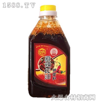 皇许麻辣红油拌菜料400ml