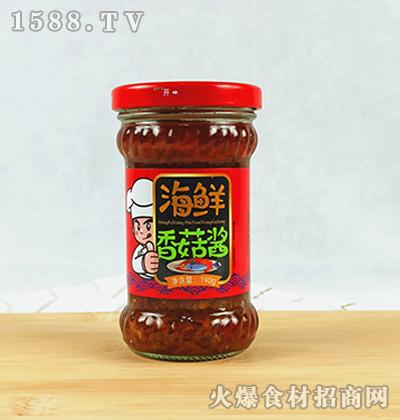 宏发祥海鲜香菇酱190g