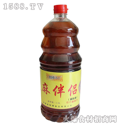 智博汤王麻伴侣液态调味料1.9L