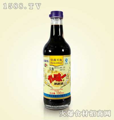 宝鼎天鱼九味一辣酱油130ml