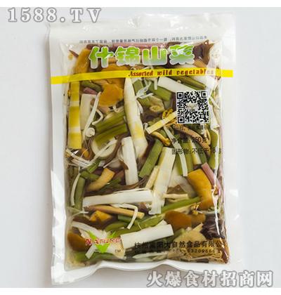 大自然什锦山菜250g