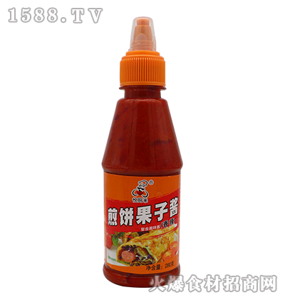 悦厨来煎饼果子酱-香辣(280克)