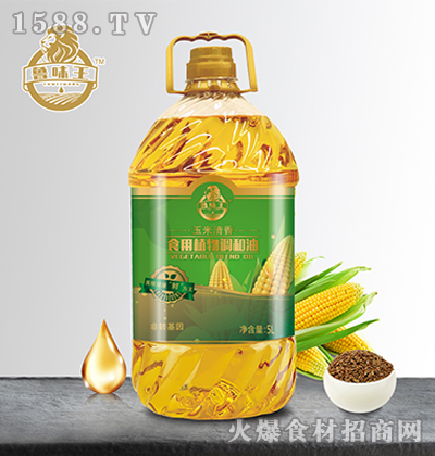 鲁味王玉米清香食用植物调和油【5L】