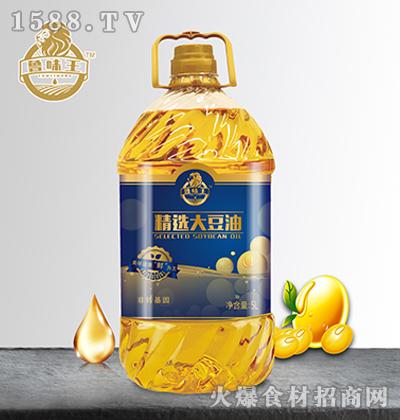 鲁味王精选大豆油-【5L】