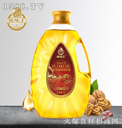 鲁味王核桃花生食用植物调和油-【5L】