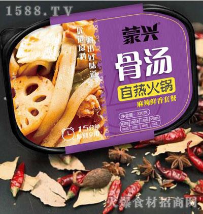 蒙兴骨汤自热火锅-麻辣鲜香套餐320克