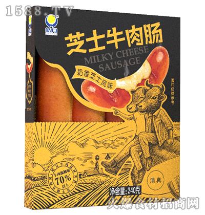 芝士牛肉肠(奶香芝士风味)240g