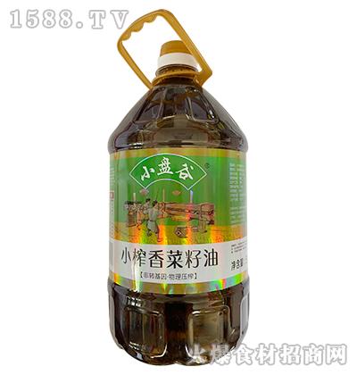 小盘谷小榨香菜籽油5L
