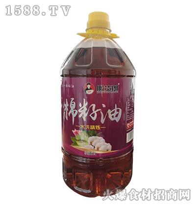 搬货郎水洗精炼棉籽油【5L】