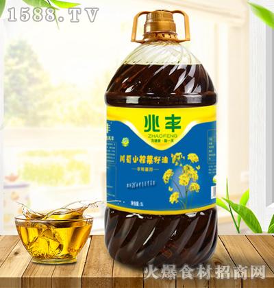 兆丰-川蜀小榨菜籽油【5L】