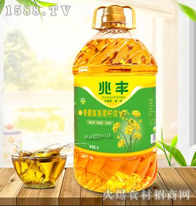兆丰青藏高原菜籽油【5L】