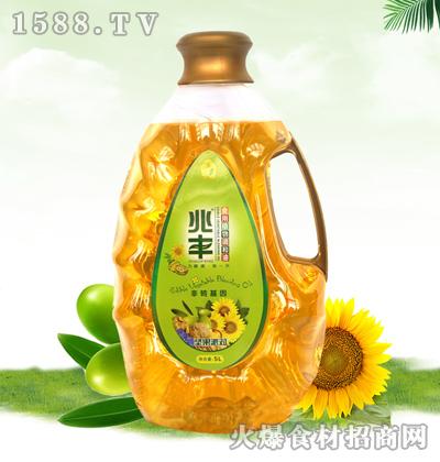 兆丰坚果派对食用植物调和油【5L】