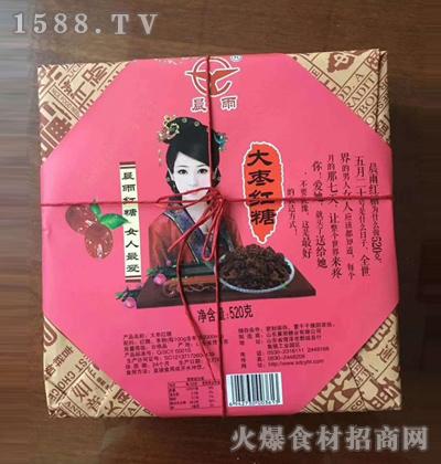 晨雨大枣红糖【520克】