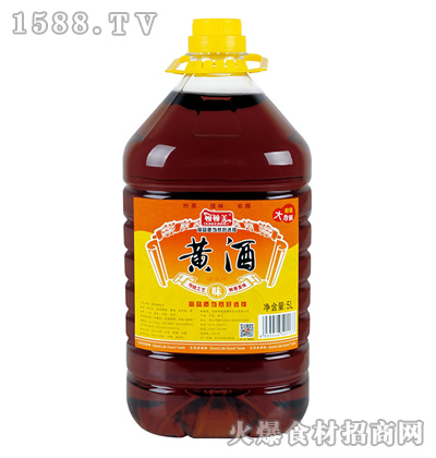 顿顿美黄酒【5L】