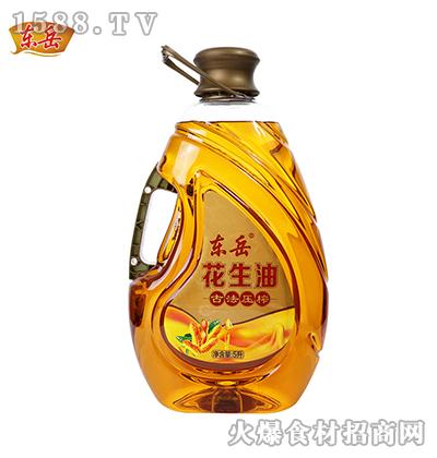 东岳古法压榨花生油【5升】