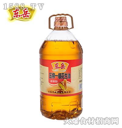 东岳压榨一级花生油(原香型)【5升】