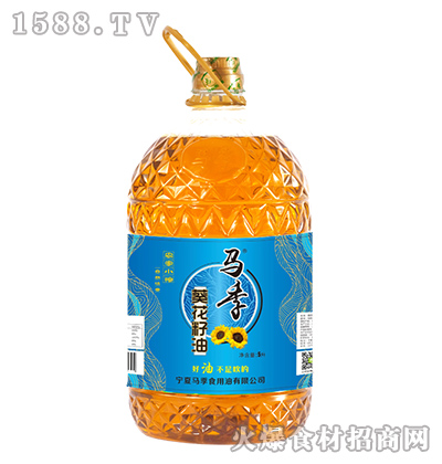 马季葵花籽油【5升】
