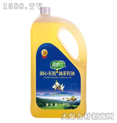 润心有机油茶籽油【3.79L】