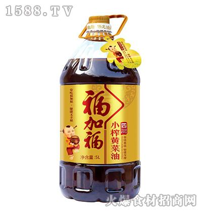 福加福小榨黄菜油【5L】
